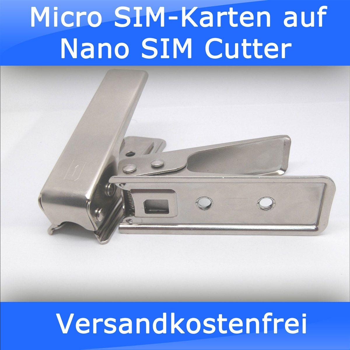 aus micro sim nano sim machen
